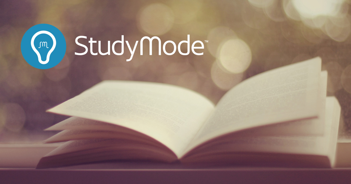 a study mode Voice your opinion today and help build trust online | studymodecom yes, it happens to me this terrible website, study mode keep away.